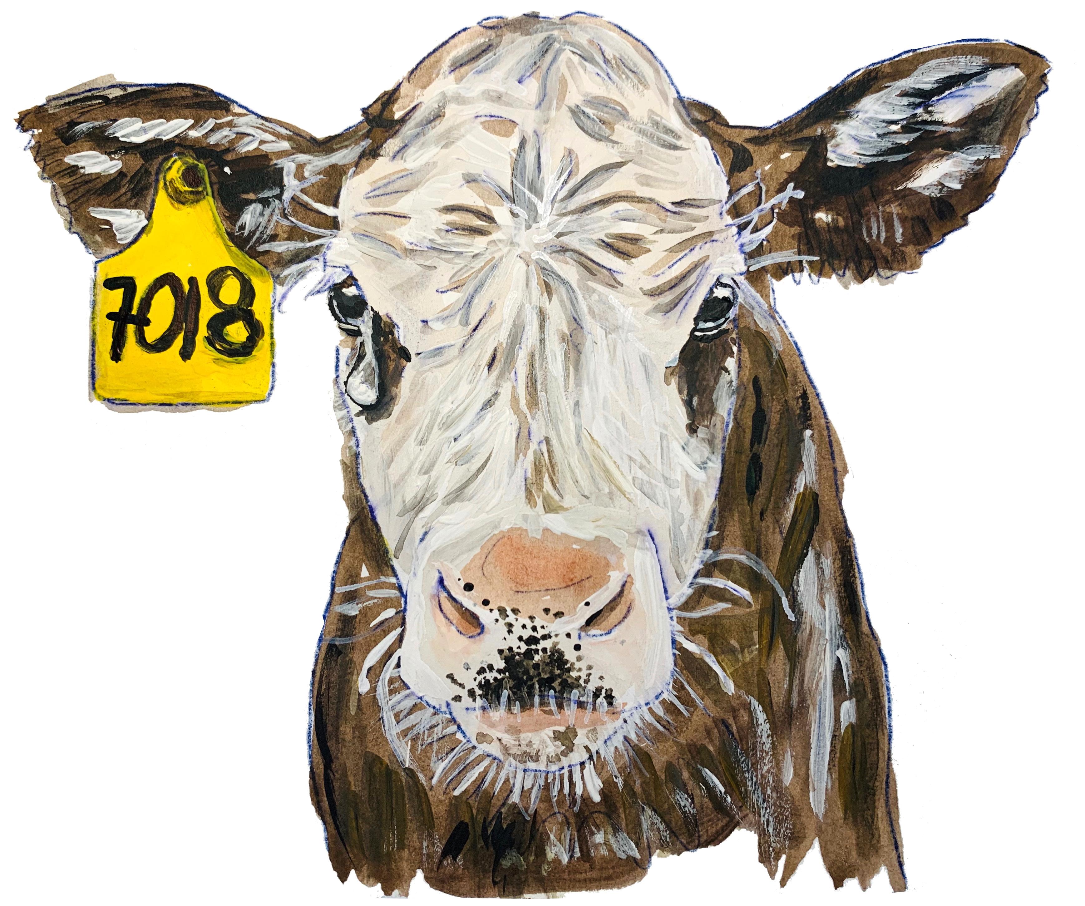 Weinende Kuh